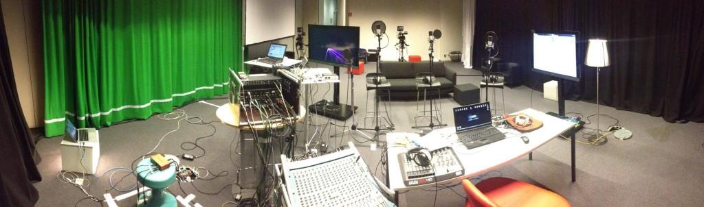 Livetechnik im MIZ-Studio